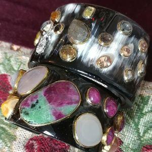 ASHLEY PITTMAN 2 Pieces Horn Bracelets